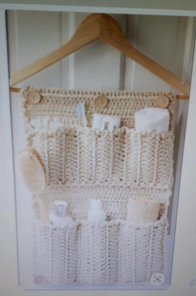 badkamerdeur organizer haken