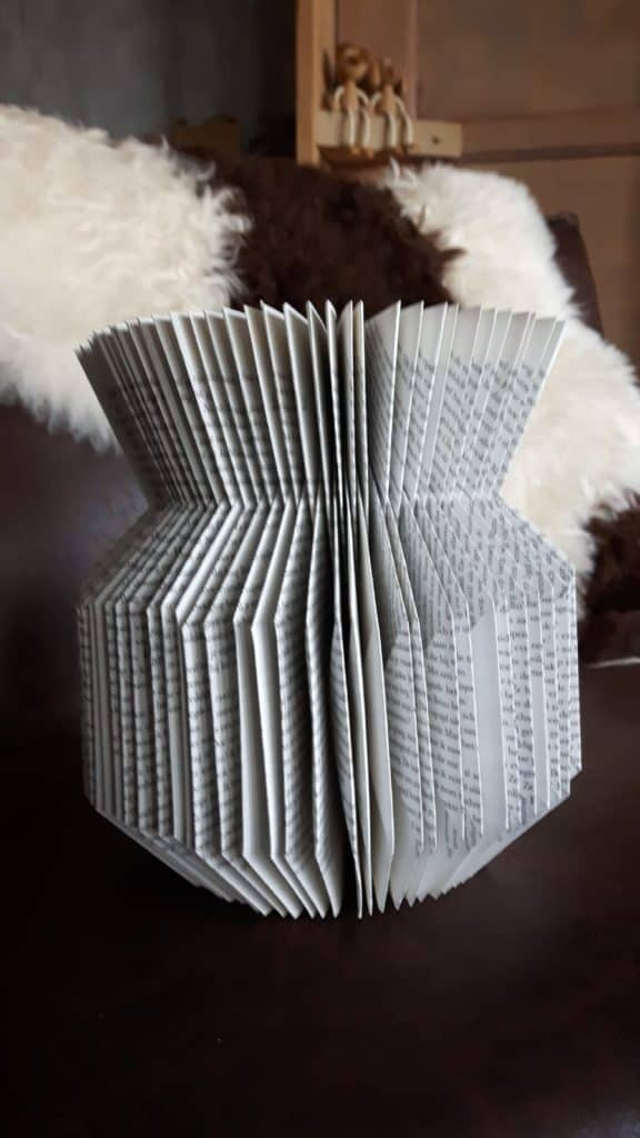 vaas van boek maken