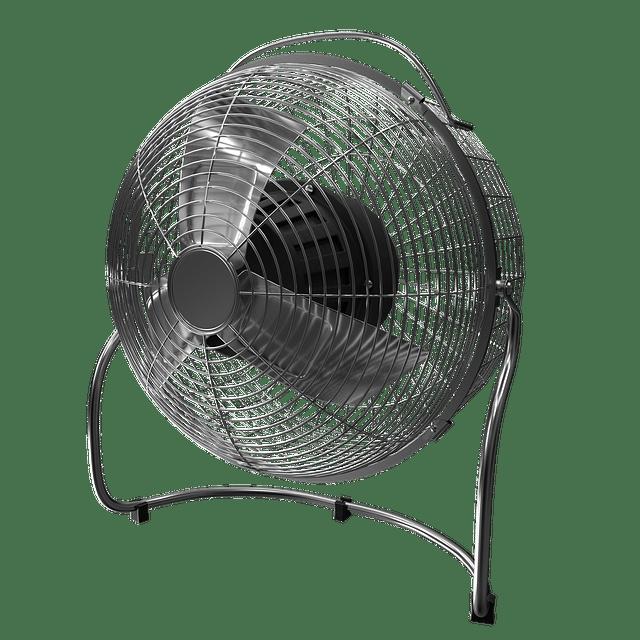 ventilator tegen verkoeling van de hete zomerdagen.
